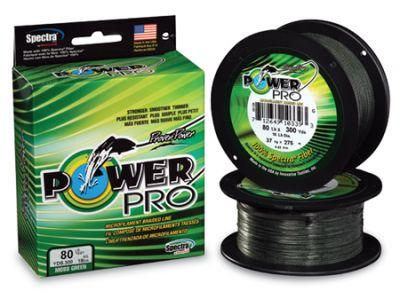 Power Pro т. зелено 92м.