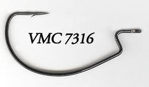 Офсетна кука VMC Black Chrome
